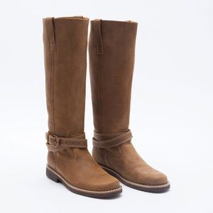 Roots Leather Riding Tribe Tall Boots